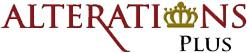Alterations Plus logo