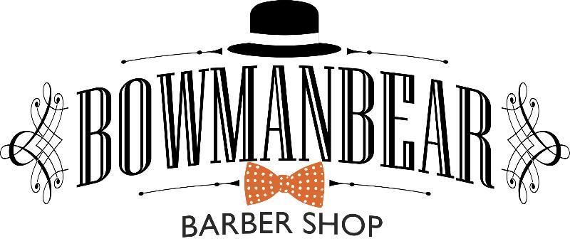 Bowmanbear Barber Shop logo