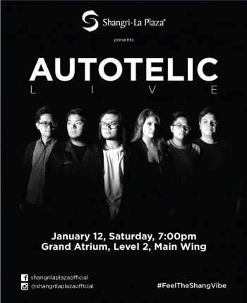 Autotelic LIVE at the Shang! Poster