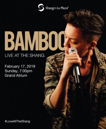 Bamboo LIVE at the Shang Poster