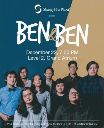 Ben & Ben LIVE at the Shang Poster