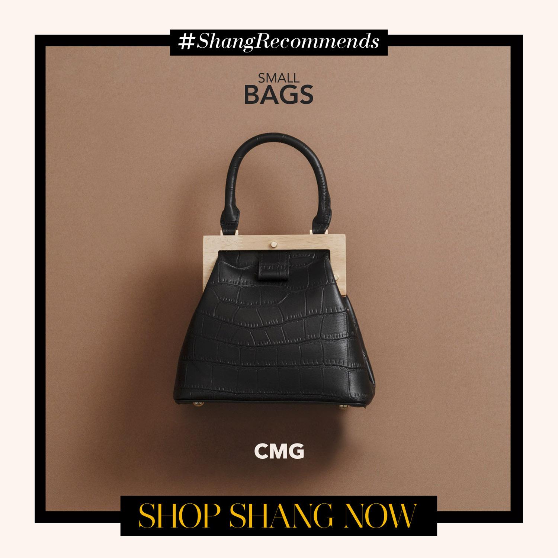 CMG Black mini bag