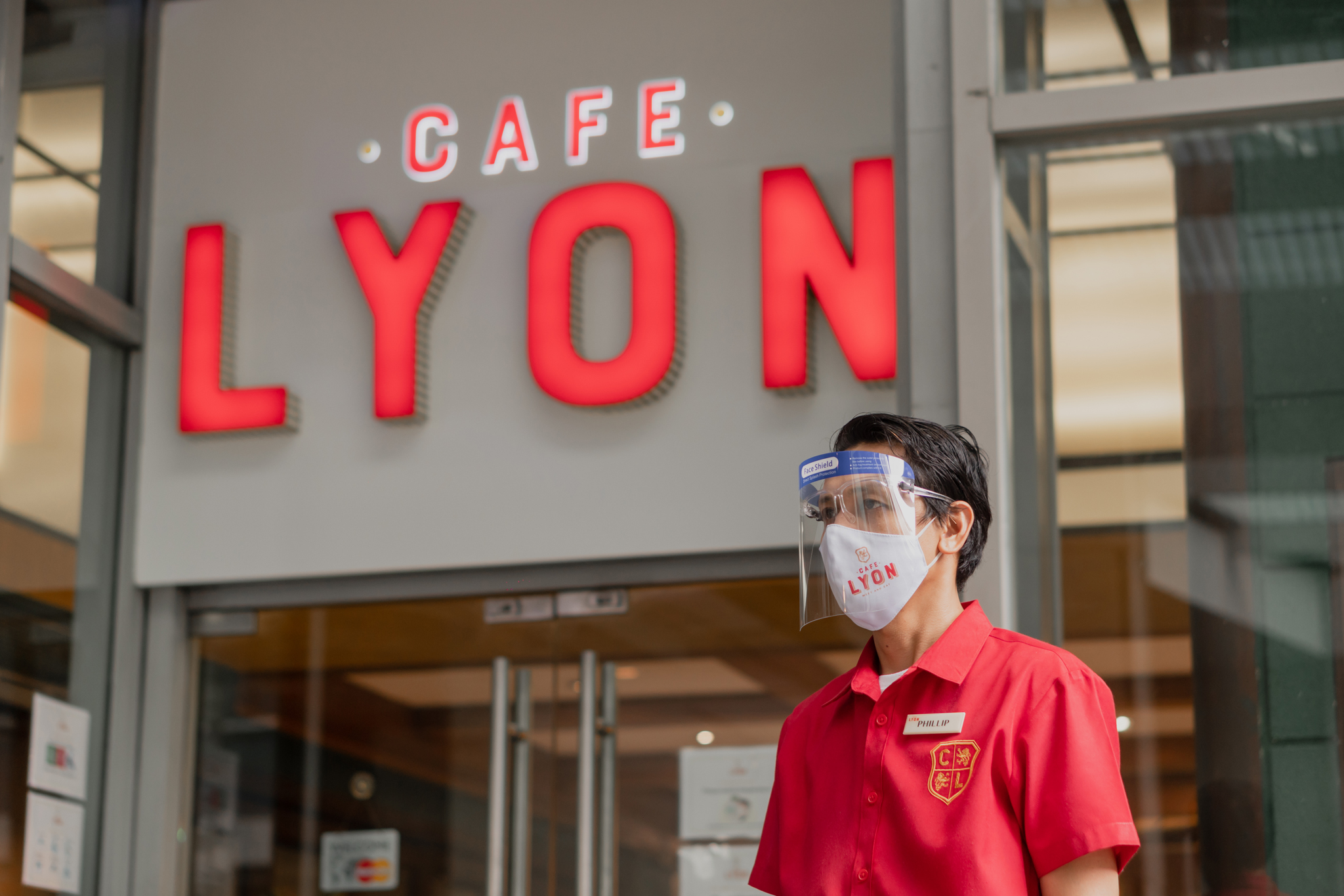 Cafe LYON open in Shang