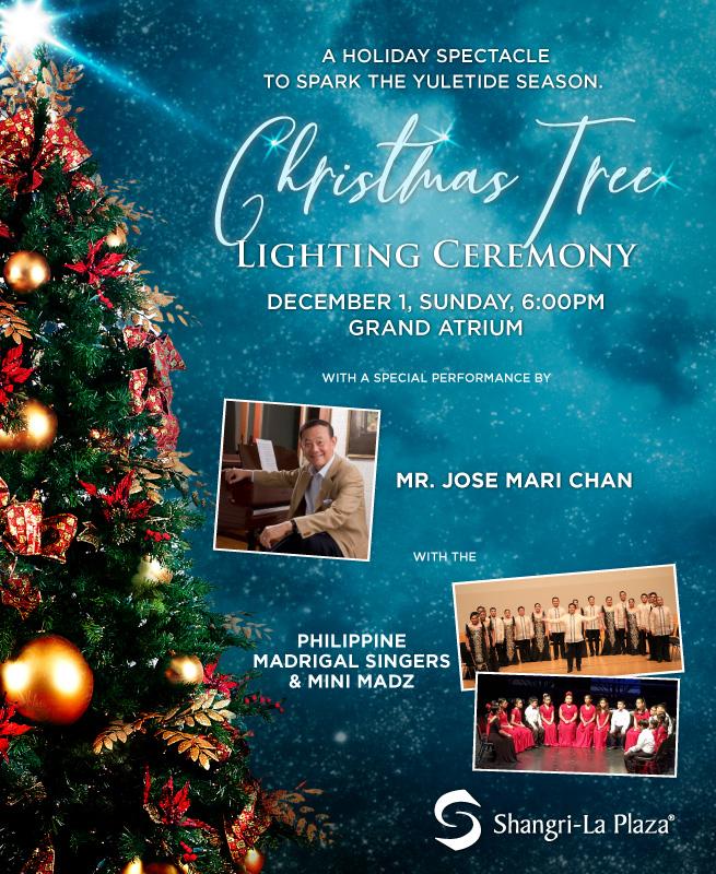 Christmas Tree Lighting 2019 Poster