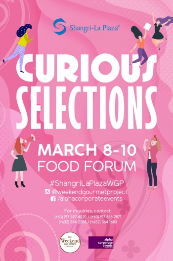 Curious Selections Poster