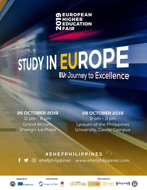 European Higher Education Fair 2019 Poster
