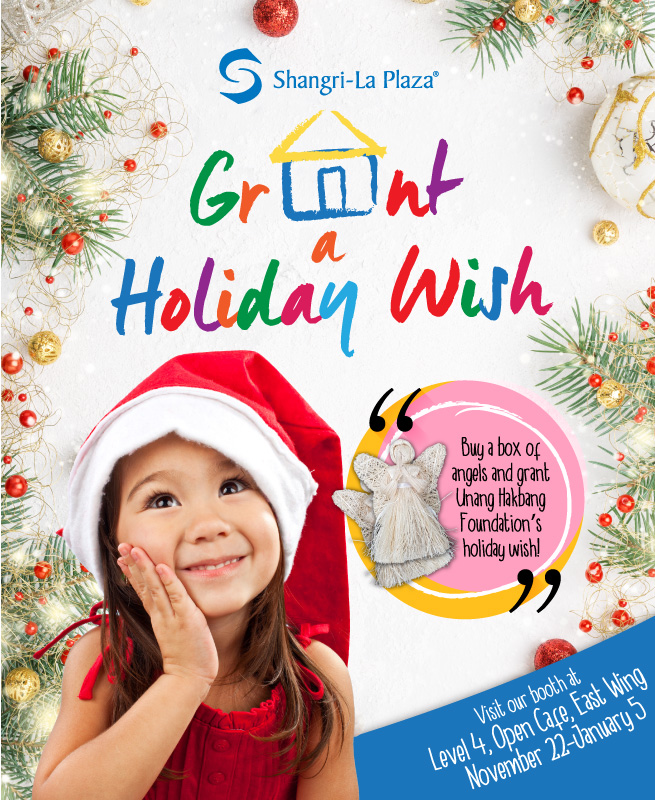 Grant a Holiday Wish Poster
