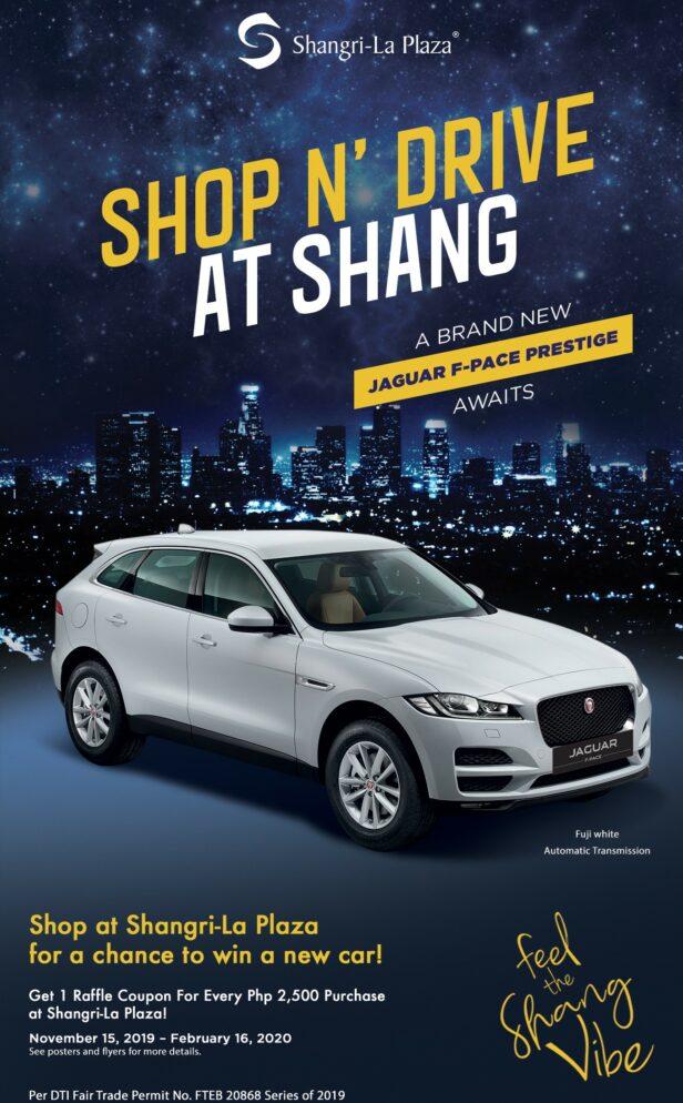 Shop N' Drive at Shang Poster