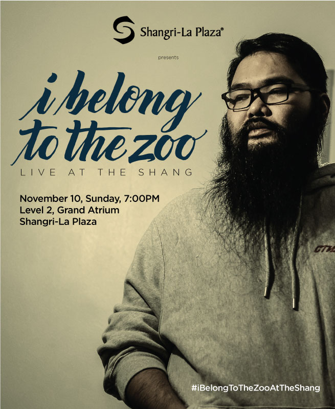 I Belong to the Zoo LIVE at the Shang Poster