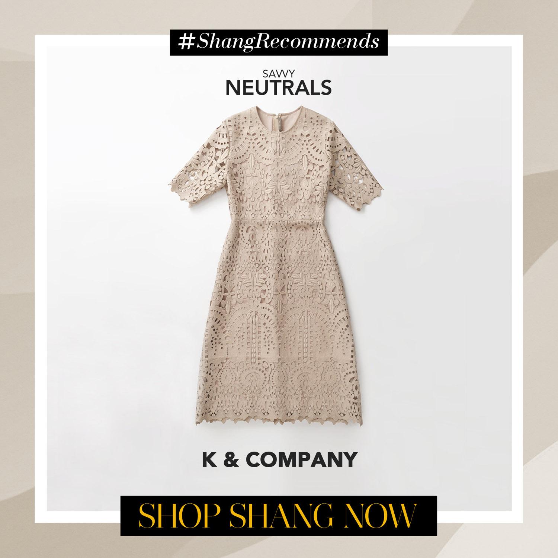 K & Company Blush Dress