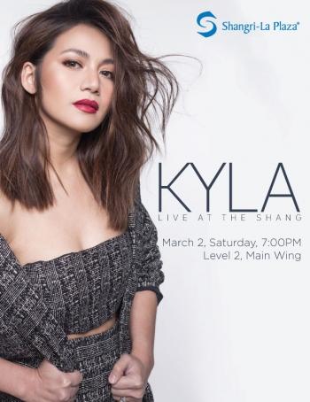 Kyla LIVE at the Shang Poster
