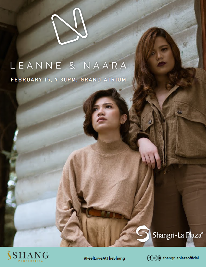 Leanne & Naara LIVE at the Shang Poster