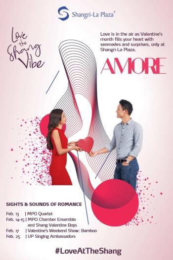 #LoveAtTheShang 2019 Poster