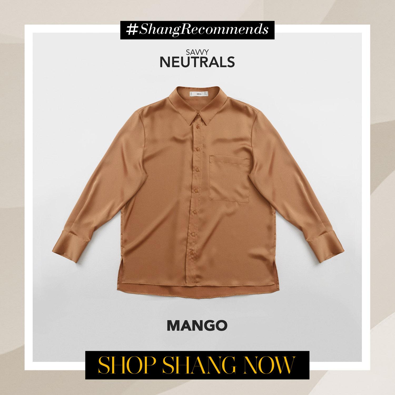 Mango Polo Blouse
