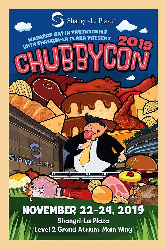 Masarap Ba ChubbyCon 2019 Poster