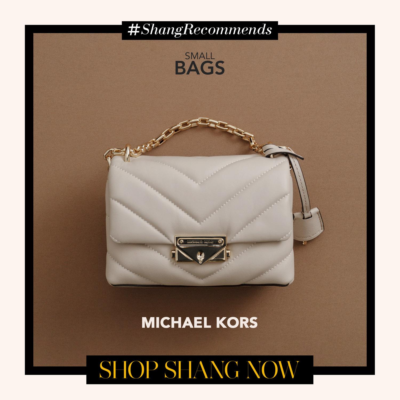 Michael Kors White Chain-strap Bag