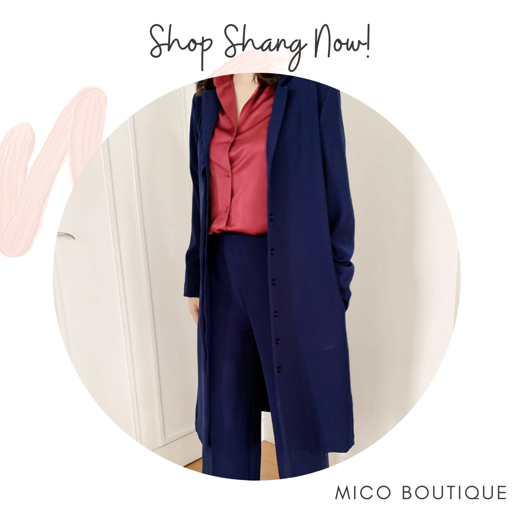 Mico Boutique Denim Blue Emma Coat
