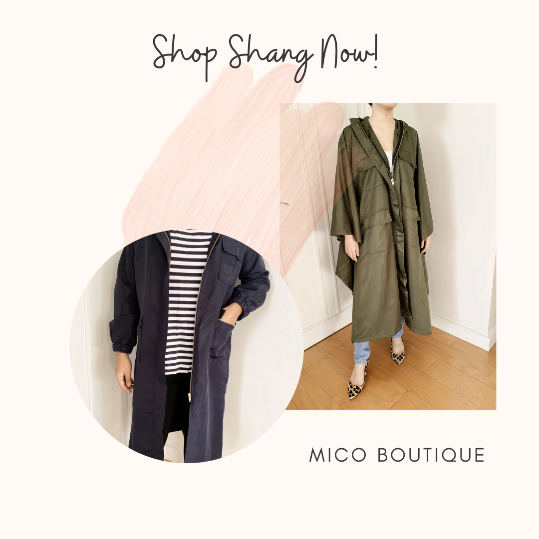 Mico Boutique Midnight Blue and Green Emma Coat