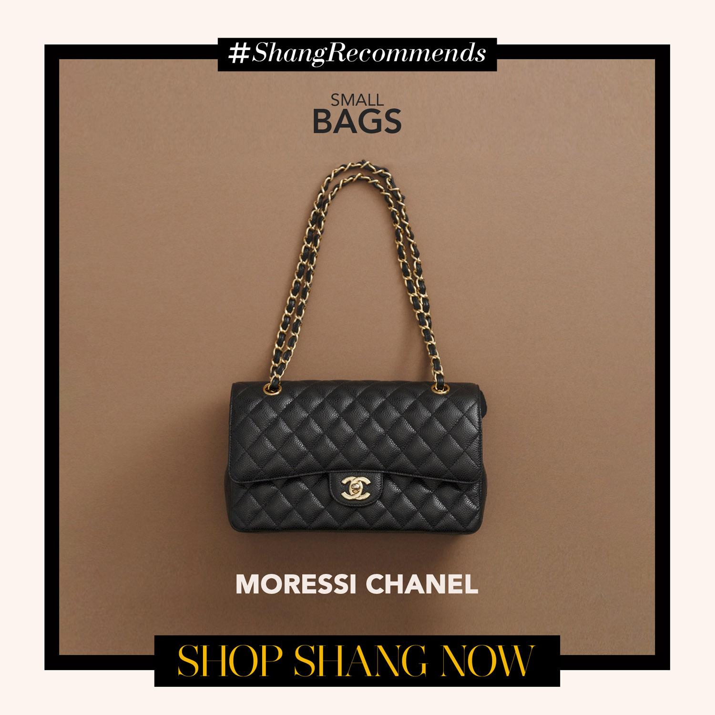Moressi Chanel Black Chain-strap Bag