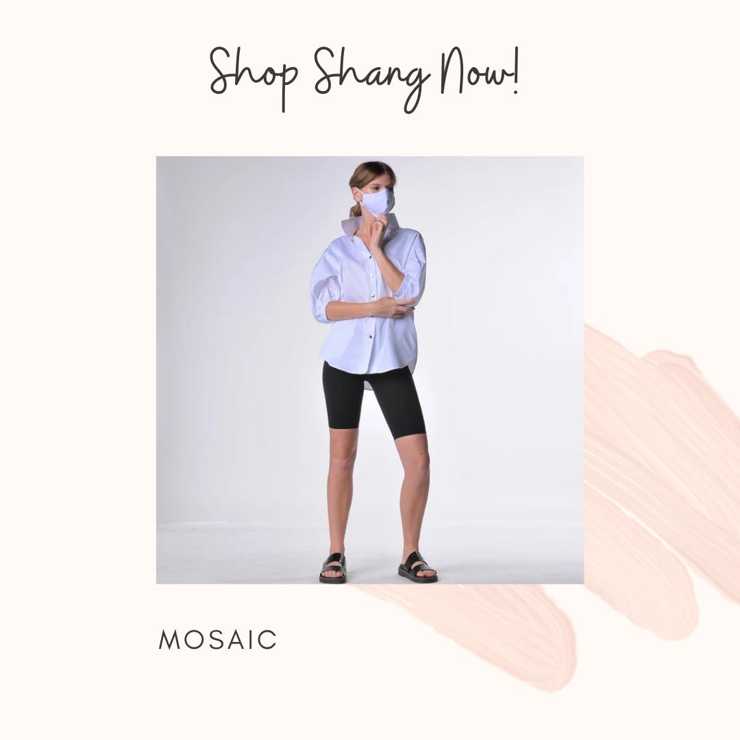 Mosaic Face Mask