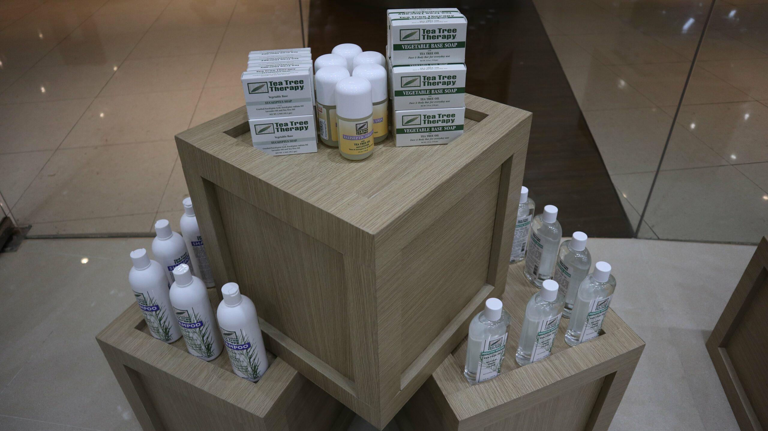 Nova Wellness Tea Tree Therapy Vegetable Base Soap and Antiseptic Solution Tea Tree Oil