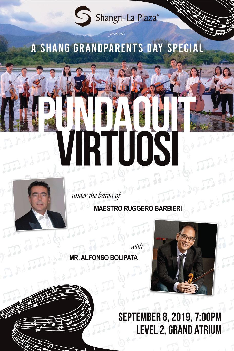 Pundaquit Virtuosi Grandparent's Day Special Poster
