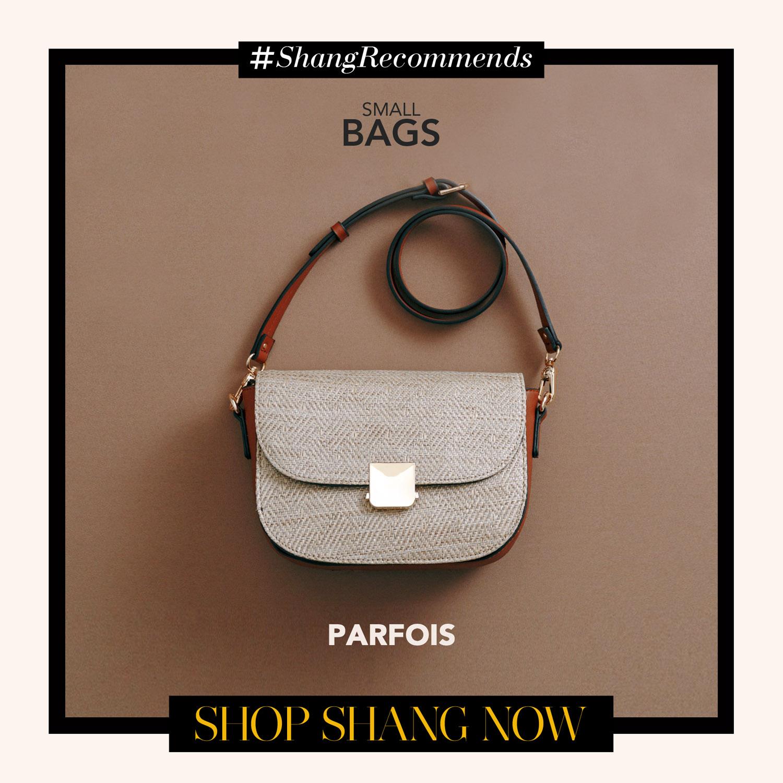 Parfois Silver Crossbody bag