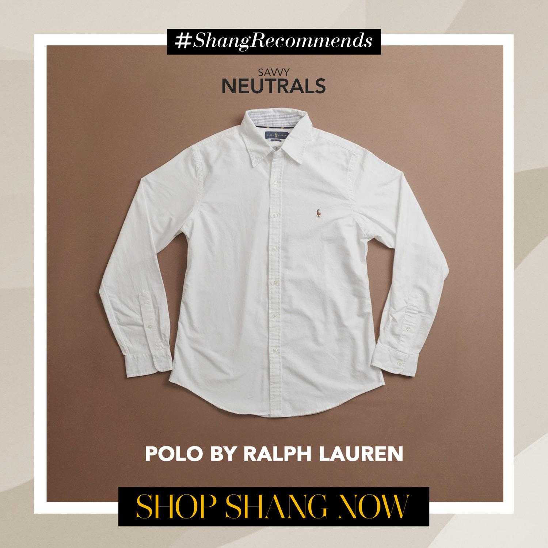 Polo by Ralph Lauren White Polo