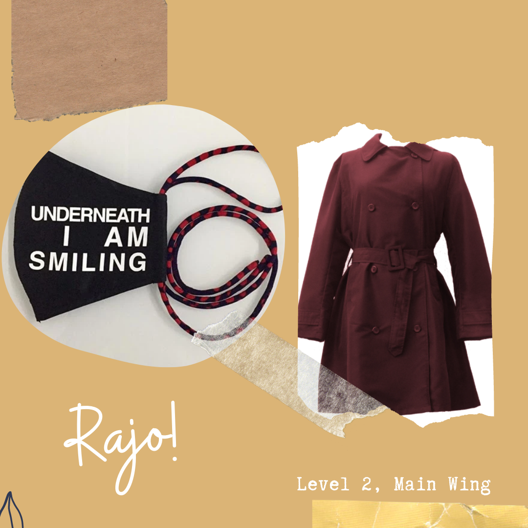 Rago! Face Mask and Outerwear