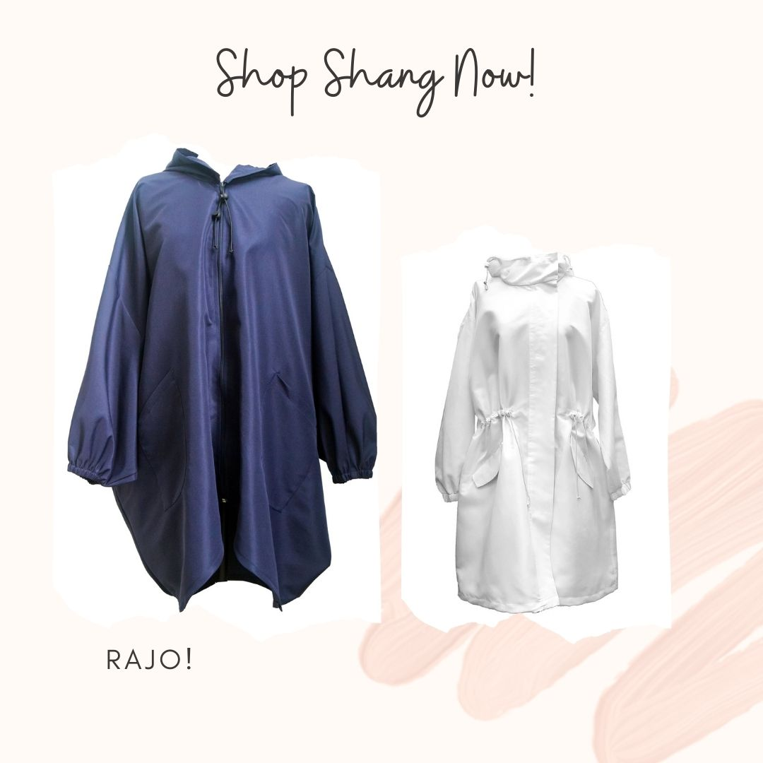 Rajo! Blue and White Protective Outerwear