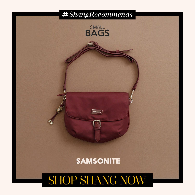 Samsonite Red Crossbody bag
