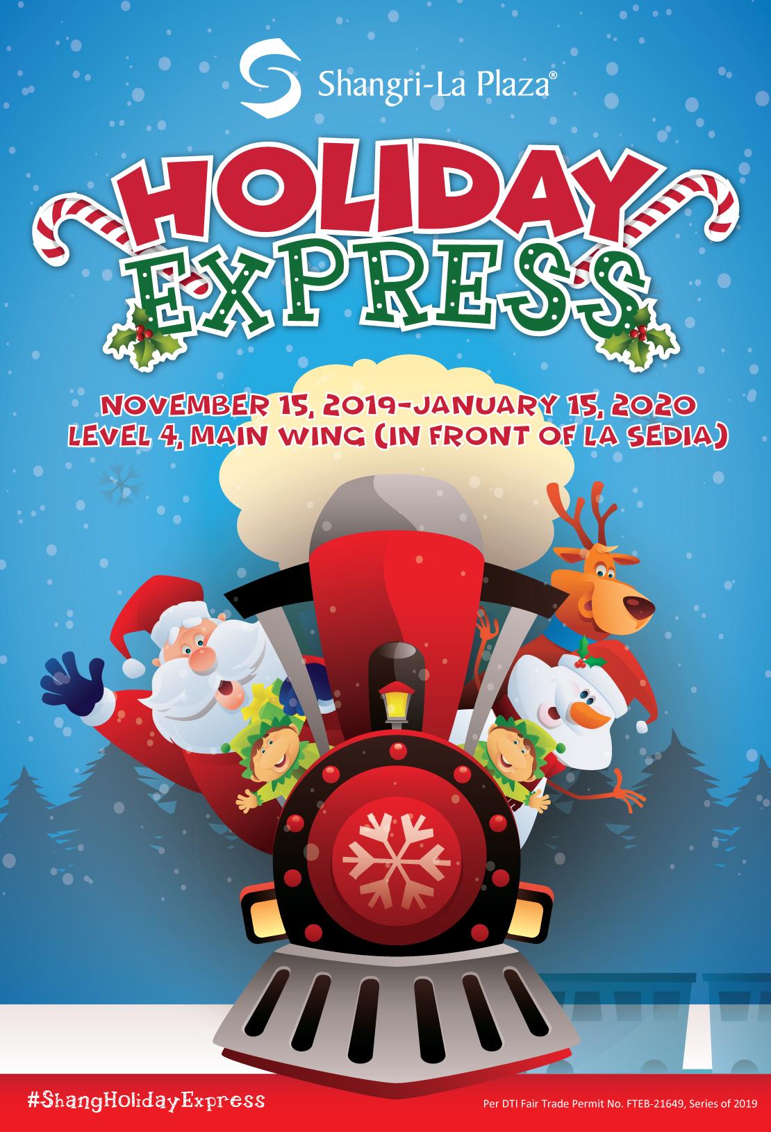 Shang Holiday Express Poster