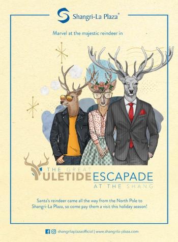 Shang Yuletide Escapade Poster