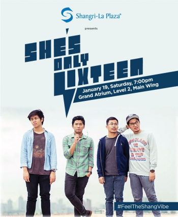 She's Only Sixteen LIVE at the Shang! Poster