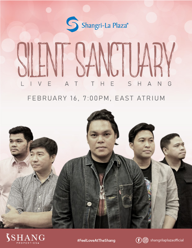 Silent Sanctuary LIVE at the Shang Poster