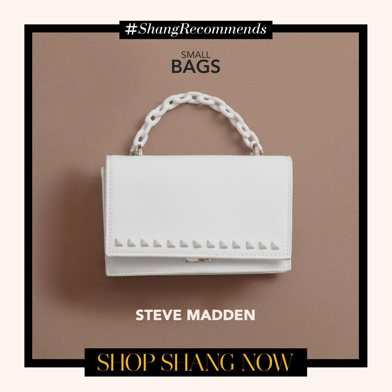 Steve Madden White Bflyn Crossbody bag