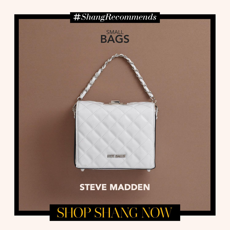 Steve Madden White mini bag
