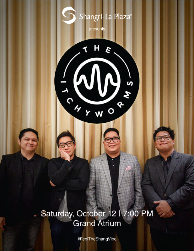 The Itchyworms LIVE at the Shang Poster