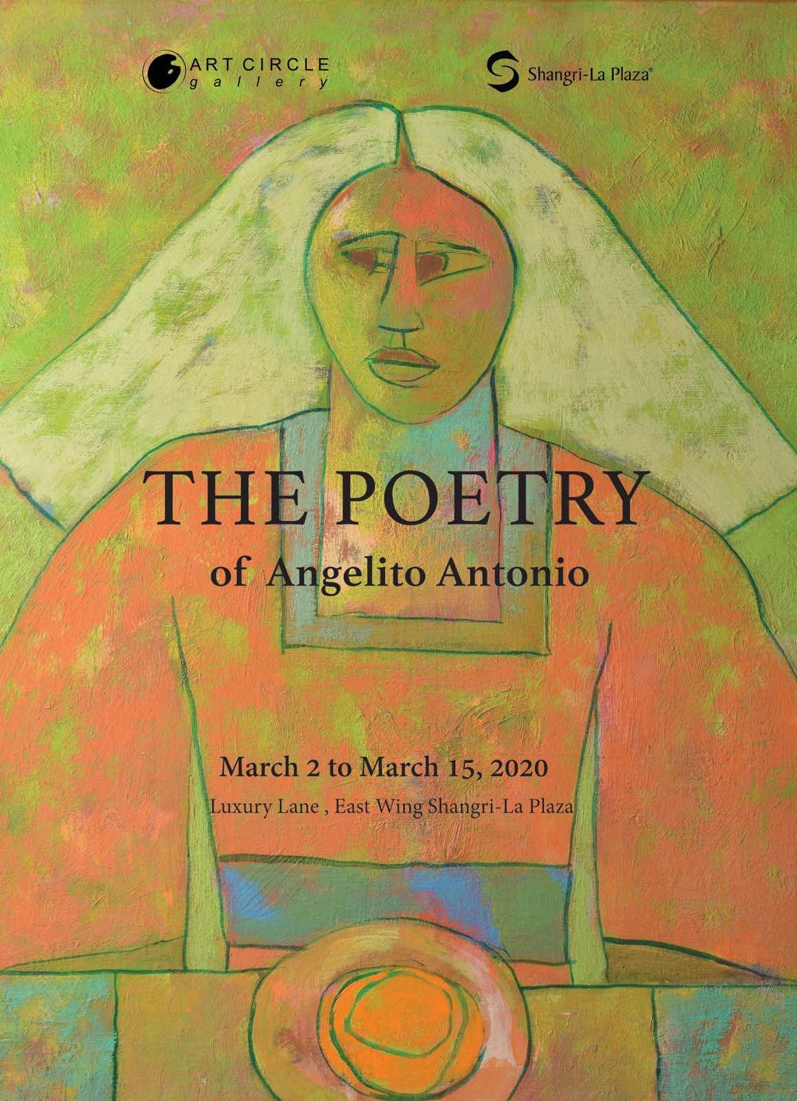 The Poetry of Angelito Antonio Poster