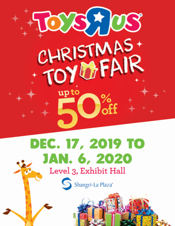 Toys R' Us Christmas Toy Fair Poster