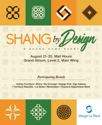Shang by Design 2019 Poster