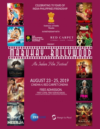 Mabuhay Bollywood Poster