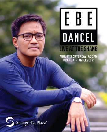 Ebe Dancel LIVE at the Shang Poster