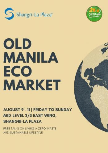 Old Manila Eco Market Poster