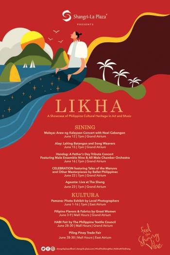 LIKHA at the Shang Poster