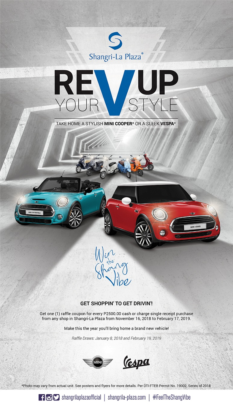 Shang Rev Up Your Style Promo Poster