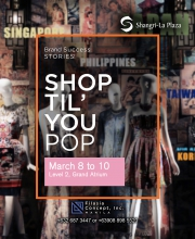 Shop Til' You Pop Poster
