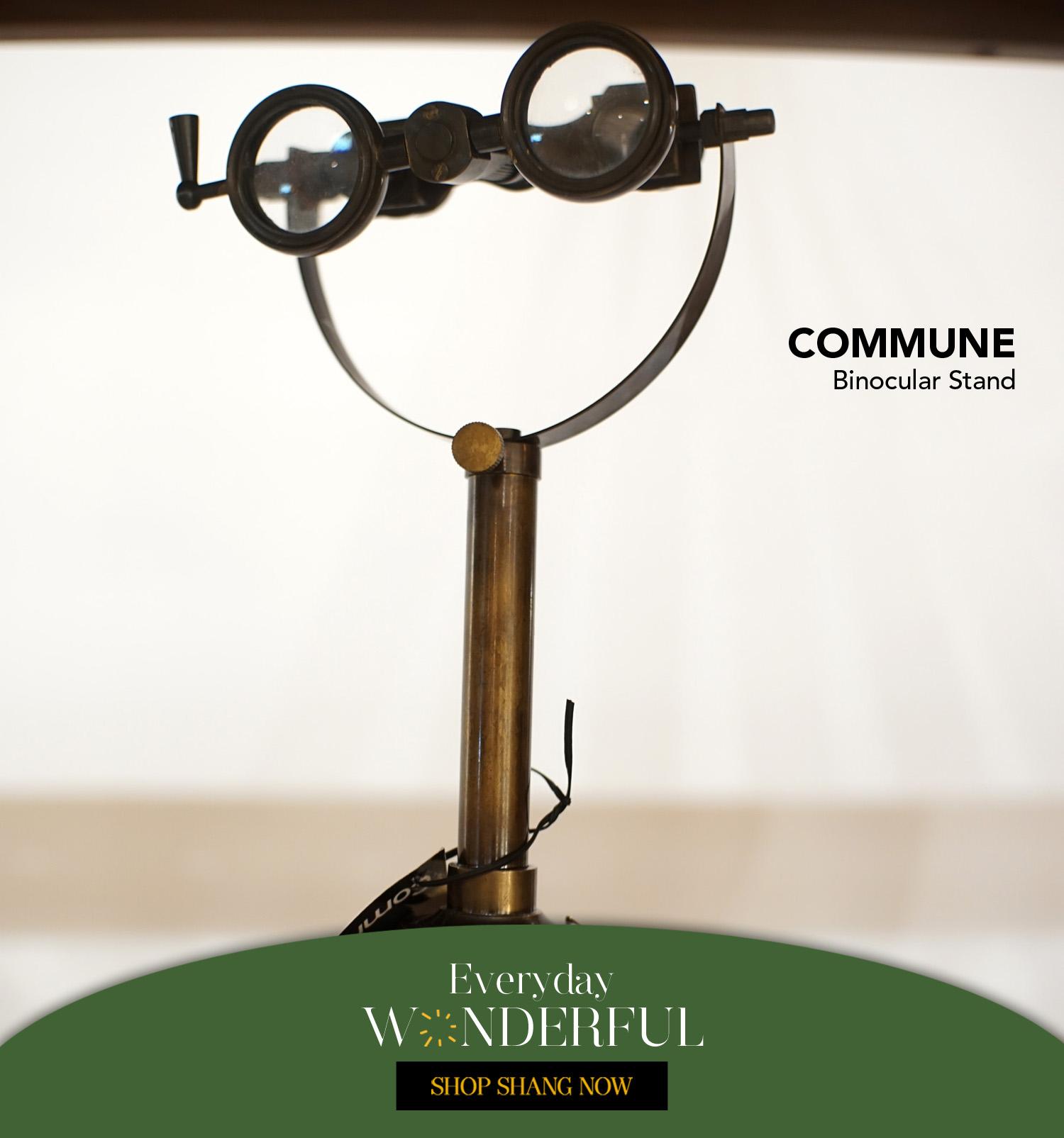 Binocular Stand from Commune