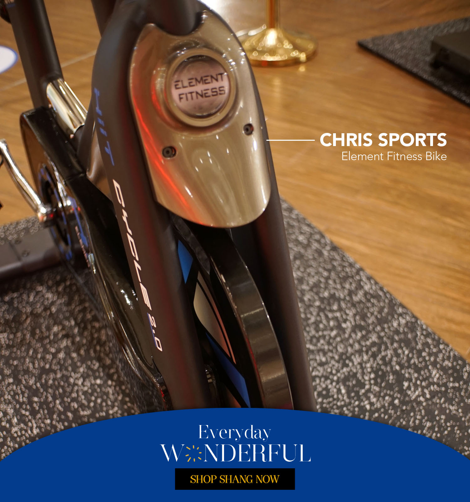 Element Fitness Bike from Chris Sports
