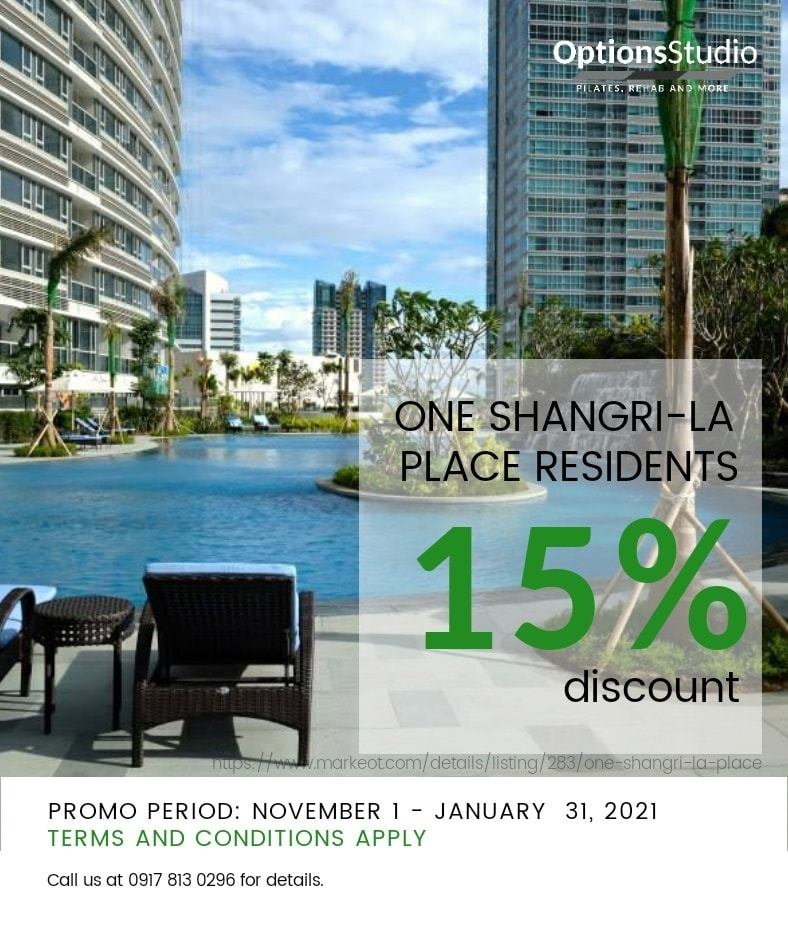 Options Studio Promo One Shang Place
